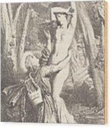 Apollon Et Daphne Wood Print