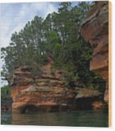 Apostle Islands National Lakeshore Wood Print