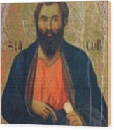 Apostle Jacob 1311 Wood Print