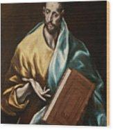 Apostle Saint James The Less Wood Print