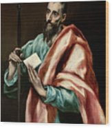 Apostle Saint Paul Wood Print