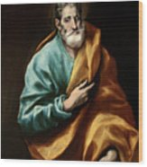 Apostle Saint Peter Wood Print