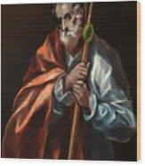 Apostle Saint Thaddeus, Jude Wood Print