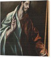 Apostle Saint Thomas Wood Print