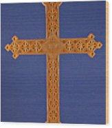 Apostle's Cross Wood Print