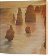 Apostles Wood Print