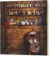 Apothecary - Just The Usual Selection Wood Print