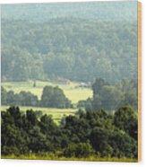 Appalachia Wood Print