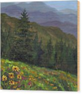 Appalachian Color Wood Print