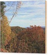 Appalachian Fall Wood Print
