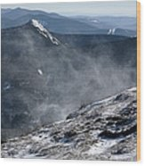 Appalachian Trail - Franconia Ridge-white Mountains New Hampshire Wood Print