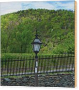 Appalachian Trail In West Virginia Goes Through Harpers Ferry Wood Print