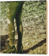 Appalachian Tutu  Wood Print
