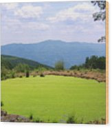 Appalachian Vista Wood Print