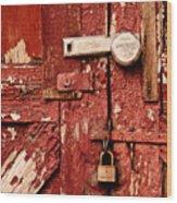 Appealing Barn Door Wood Print