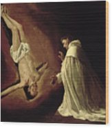 Appearance Of Saint Peter To Saint Peter Nolasco Wood Print