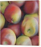 Apple Pie In Waiting Wood Print