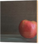 Apple Portrait Wood Print