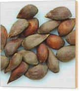 Apple Seeds Wood Print
