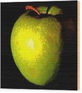 Apple Shades Wood Print