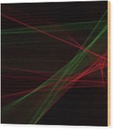 Apple Tree Computer Graphic Line Pattern Wood Print