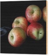 Appleanche Wood Print