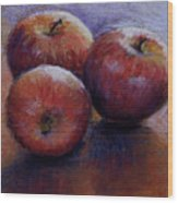 Apples IIi Wood Print