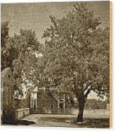 Appomattox Wood Print
