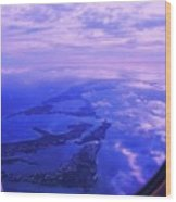 Approaching Bermuda Wood Print