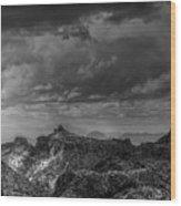 Approaching Storm Wood Print