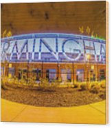 April 2015 - Birmingham Alabama Regions Field Minor League Baseb Wood Print