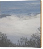 April Appalachian Overlook Wood Print