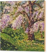 April Dream Wood Print