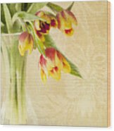April Flowers Wood Print