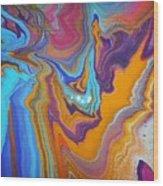 April Sky Wood Print
