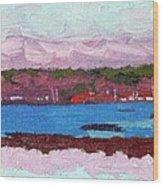 April Sunrise Singleton Wood Print