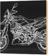 Aprilia Smv 900 Dorsoduro Wood Print