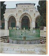 Aqsa Main Arches Wood Print