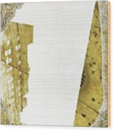 Aqua Metallic Series Together Apart Wood Print
