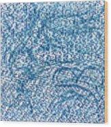 Aqua Minerale Wood Print