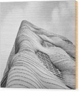 Aqua Tower Wood Print