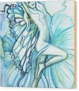 Aquafairie Wood Print