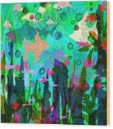 Aquaphoria Wood Print