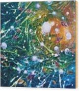 Aquarium Galaxy Wood Print