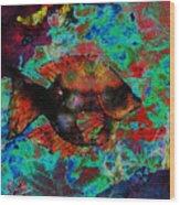 Aquatic Director 2 Wood Print