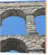 Aqueduct Of Segovia Wood Print