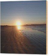 Aquidneck Sunrise 4 Wood Print