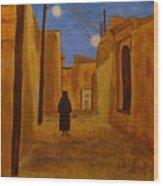 Arab Quarter Wood Print
