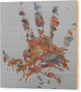 Arab Spring One Wood Print