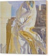 Arab Woman Wood Print